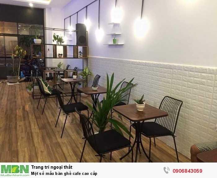 Một số mẫu bàn ghế cafe cao cấp0