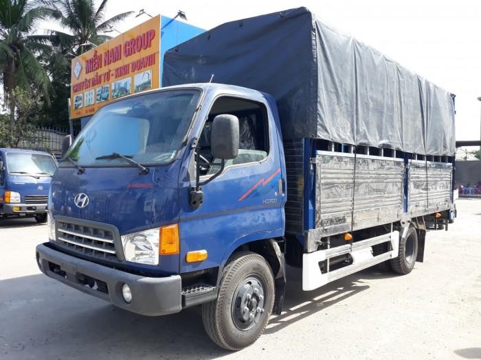 Hyundai HD700 sản xuất năm 2018 Số tay (số sàn) Xe tải động cơ Dầu diesel