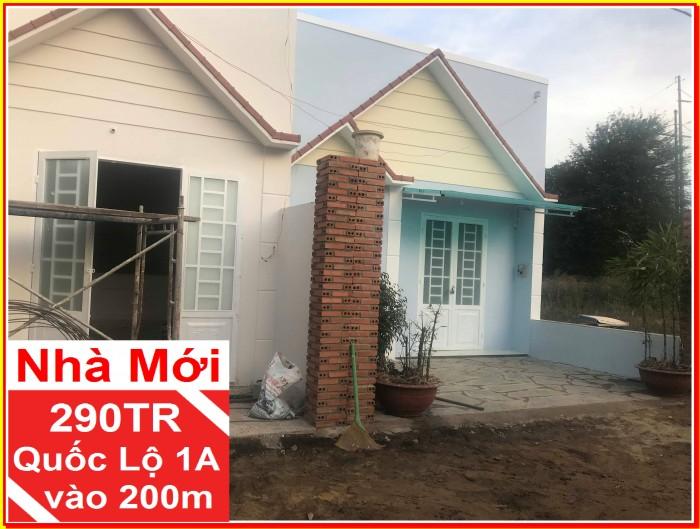 Nhà mới 50m2 chỉ 290Tr điện nước có sẵn dọn vào ở ngay, Hưng Lộc – Thống Nhất