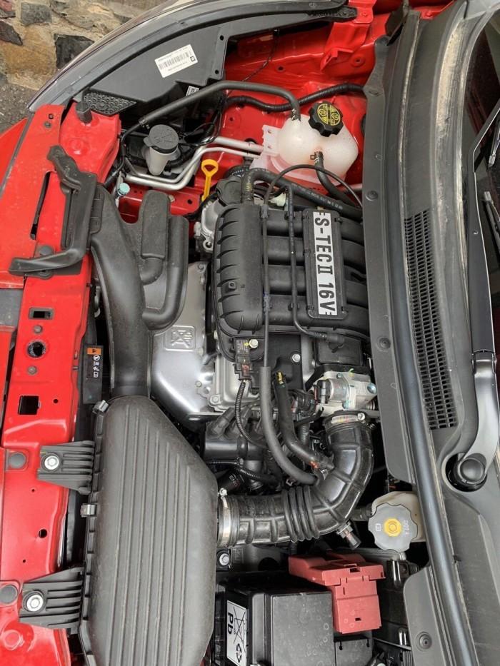 Bán Chevrolet Spark LS 1.2MT màu đỏ số sàn sản xuất 2018 biển Sài Gòn lăn bánh 500km xe như mới