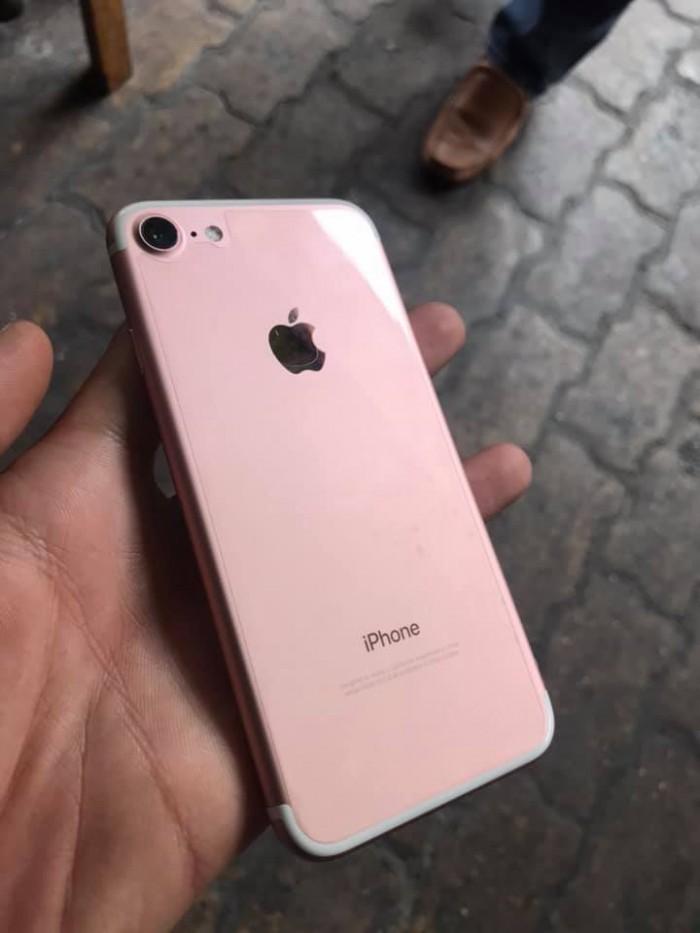 Rinh iPhone 7 32G cũ hồng không cần đưa trước0