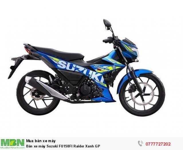 Bán xe máy Suzuki FU150FI Raider Xanh GP