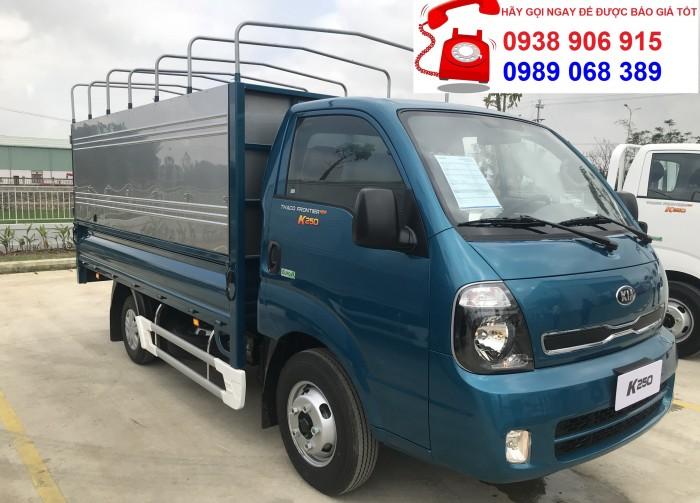 xe tai  Kia K250 2T4 tai bình dương, cần bán xe tải thaco Kia K250 đời 2018,hỗ trợ trả góp 75%, Cam kết giá tốt nhất