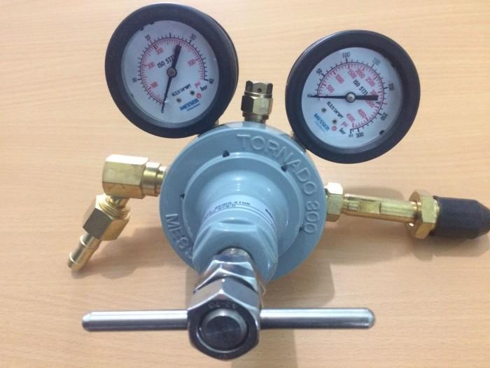 Đồng hồ giảm áp nitơ Messer Harris Yildiz16