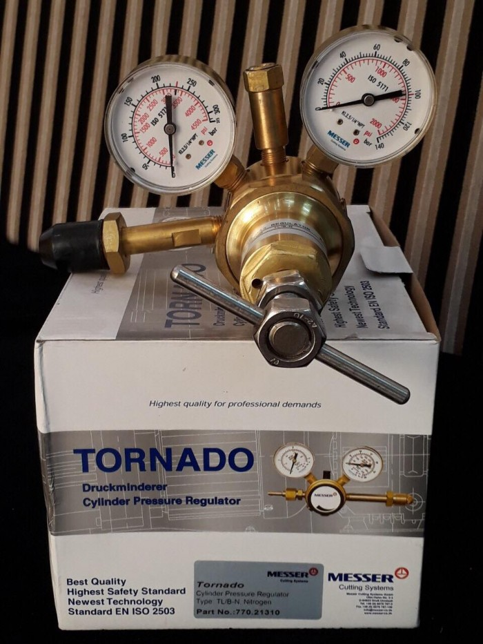 Đồng hồ giảm áp nitơ Messer Harris Yildiz18