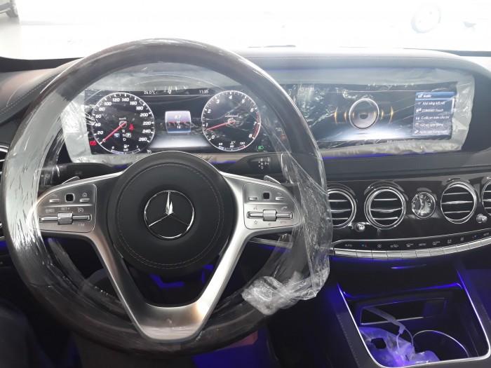 Bán Mercedes S450 2018 cũ, lướt, màu trắng/nội thất đen, chính hãng, giá tốt nhất