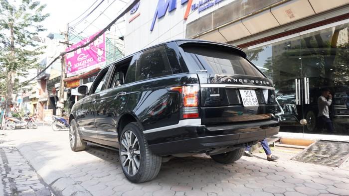 Land Rover Range Rover Autobiography Lwb 5.0l 04 Seats Model 2015, Màu Đen Nội Thất Đen