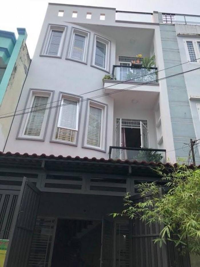 Nhà đẹp. 3 tầng. 3,5*13. Ni Sư Huỳnh Liên, P10, Tân Bình.