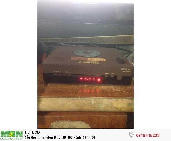 Đầu thu TH anvien DTB HD 100 kênh đời mới0