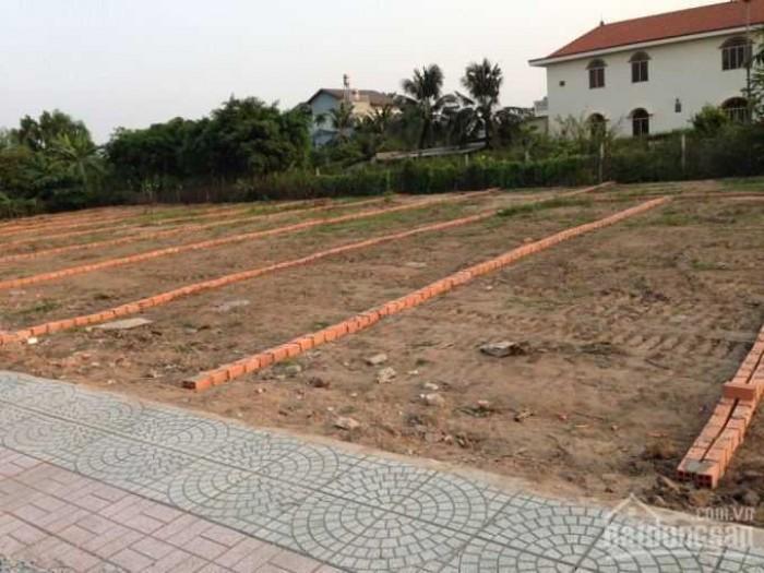 Bán lô đất 60m2 đường An Hạ,Bình Chánh, sổ hồng riêng