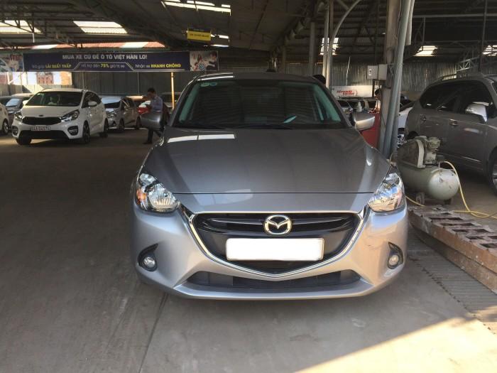 Bán Mazda 2 2015, màu xám bạc, đúng chất, nhập thái, giá TL, hổ trợ góp
