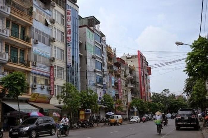BÁN ĐẤT phố kinh doanh 80m2 mặt tiền 8m Nguyễn Hoàng, Mỹ Đình, Nam Từ Liêm xíu