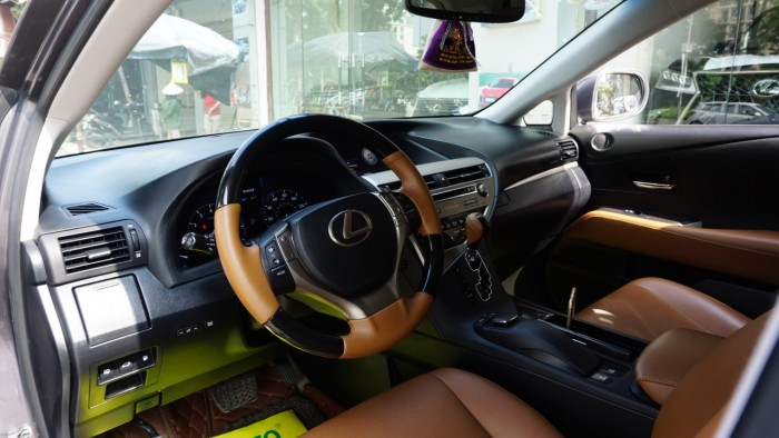 Lexus RX 350 đời 2014, màu xám (ghi), nhập khẩu Mỹ, biển Hà Nội tứ quý cực vip LH: 0982.842838 26