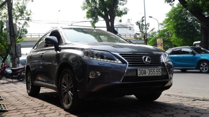 Lexus RX 350 đời 2014, màu xám (ghi), nhập khẩu Mỹ, biển Hà Nội tứ quý cực vip LH: 0982.842838 18