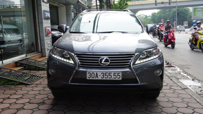 Lexus RX 350 đời 2014, màu xám (ghi), nhập khẩu Mỹ, biển Hà Nội tứ quý cực vip LH: 0982.842838 0