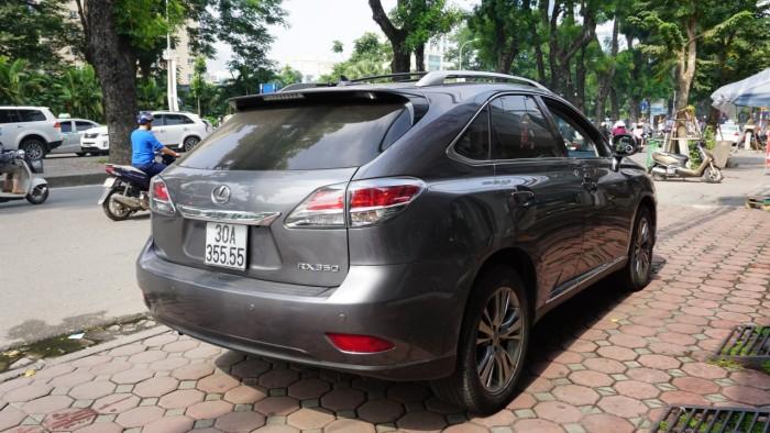 Lexus RX 350 đời 2014, màu xám (ghi), nhập khẩu Mỹ, biển Hà Nội tứ quý cực vip LH: 0982.842838 8