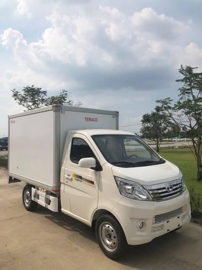 Xe tải 1 tấn Tera 100 Hàn Quốc thùng dài 2m8 động cơ Mitsubishi
