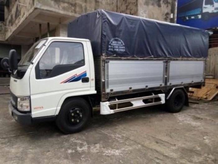 Xe tải Đô Thành Iz49 tải trọng 2,4 tấn vào thành phố, dùng dài 4,2, trả trước 80tr lấy xe ngay, nhiều quà tặng, khuyến mãi hấp dẫn. 2