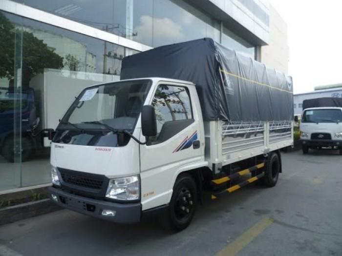 Xe tải Đô Thành Iz49 tải trọng 2,4 tấn vào thành phố, dùng dài 4,2, trả trước 80tr lấy xe ngay, nhiều quà tặng, khuyến mãi hấp dẫn. 3