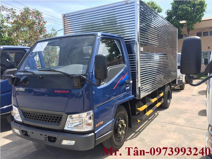 Xe tải Đô Thành Iz49 tải trọng 2,4 tấn vào thành phố, dùng dài 4,2, trả trước 80tr lấy xe ngay, nhiều quà tặng, khuyến mãi hấp dẫn. 5