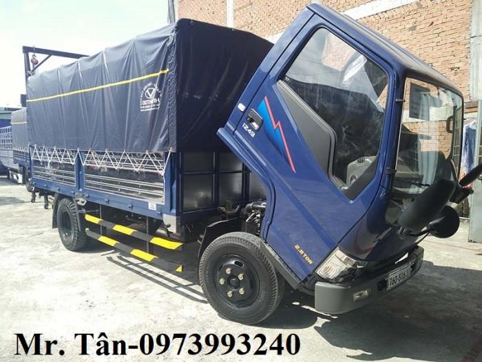 Xe tải Đô Thành Iz49 tải trọng 2,4 tấn vào thành phố, dùng dài 4,2, trả trước 80tr lấy xe ngay, nhiều quà tặng, khuyến mãi hấp dẫn. 6