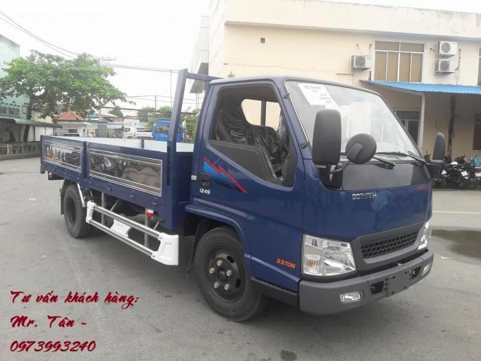 Xe tải Đô Thành Iz49 tải trọng 2,4 tấn vào thành phố, dùng dài 4,2, trả trước 80tr lấy xe ngay, nhiều quà tặng, khuyến mãi hấp dẫn. 7