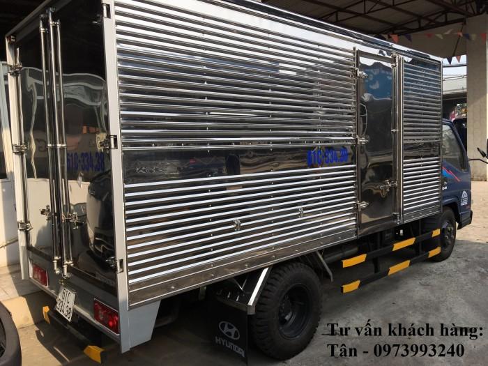 Xe tải Đô Thành Iz49 tải trọng 2,4 tấn vào thành phố, dùng dài 4,2, trả trước 80tr lấy xe ngay, nhiều quà tặng, khuyến mãi hấp dẫn. 8