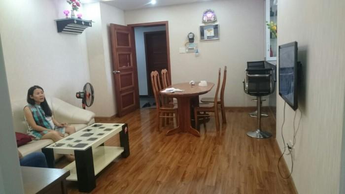 Cho thuê căn hộ An Tiến lầu thấp 3 phòng ngủ,  đầy đủ nội thất