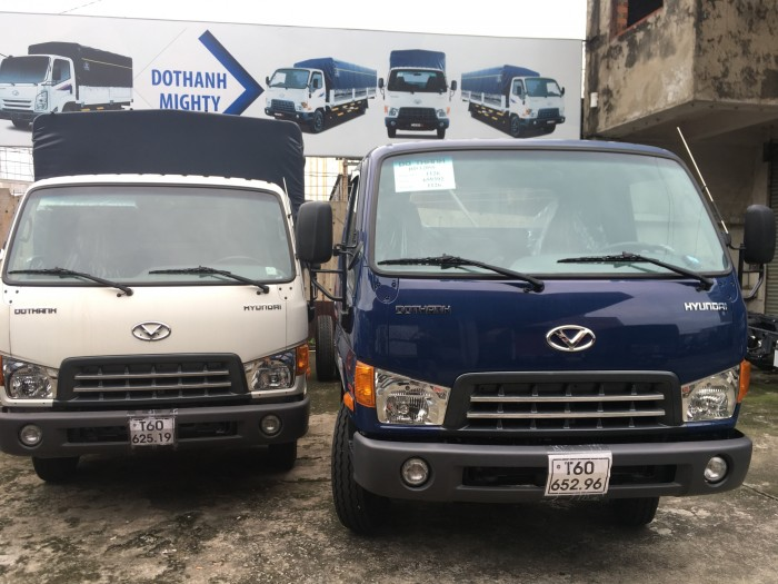 Xe tải Hyundai nhập khẩu chính hãng Hàn Quốc New Mighty 2017, tải trọng 8 tấn, thùng dài 5m, hỗ trợ trả góp đến 85% giá trị xe, nhiều quà tặng hấp dẫn