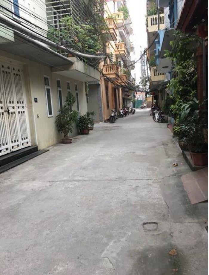 Bán nhà đẹp 4 tầng mặt ngõ ô tô Thái Thịnh, DT 43m2