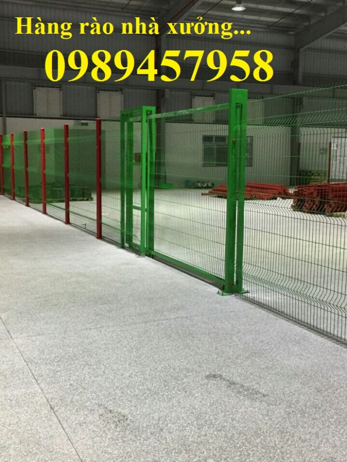 Sản xuất lưới Hàng rào nhà xưởng, Hàng rào công ty, hàng rào nhà để xe6