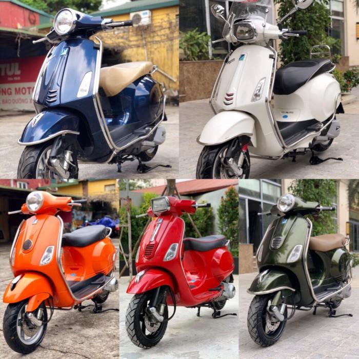 - Chuyên bán các dòng Piaggio: LX, Sprint, Primavera ...đầy đủ màu sắc, chất lượng...