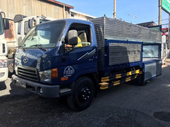 Hyundai 3t5 2009 cũ nhập khẩu thùng mui bạt 4