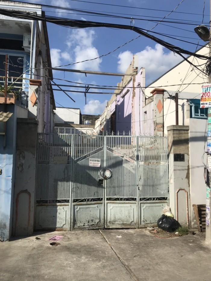 Cần Bán Nhà Nát Hẻm 5m Thông Đường Tân Hòa Đông . Quận Bình Tân