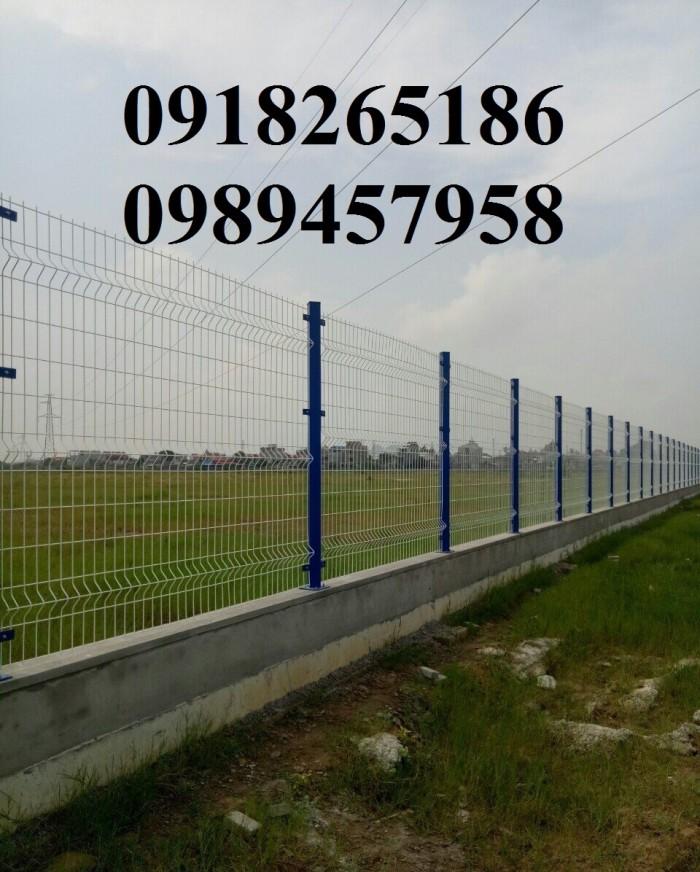 Lưới hàng rào Nhà máy Phi 5 50x150 và 50x200 sơn tĩnh điện giá tốt3