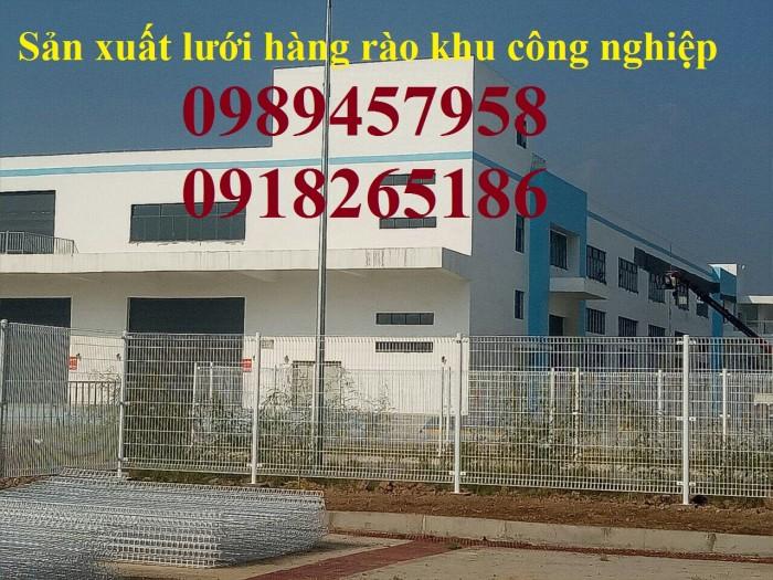 Lưới hàng rào Nhà máy Phi 5 50x150 và 50x200 sơn tĩnh điện giá tốt1