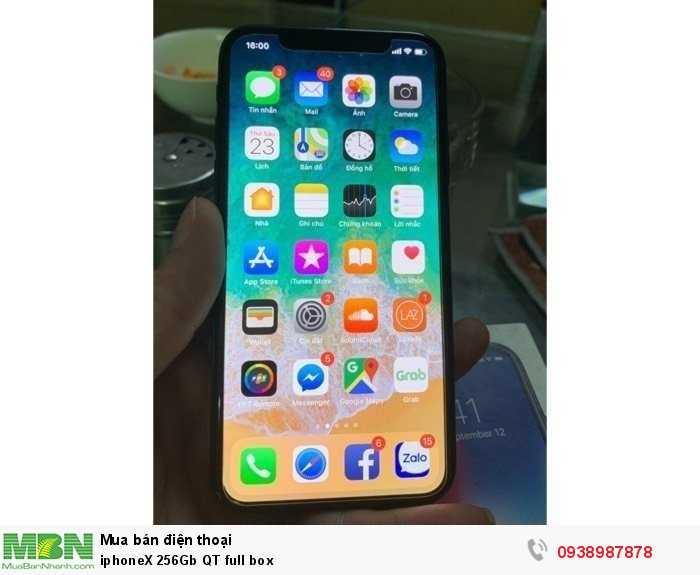 IphoneX 256Gb QT full box0