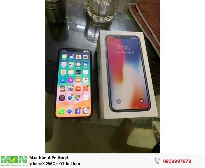 IphoneX 256Gb QT full box1