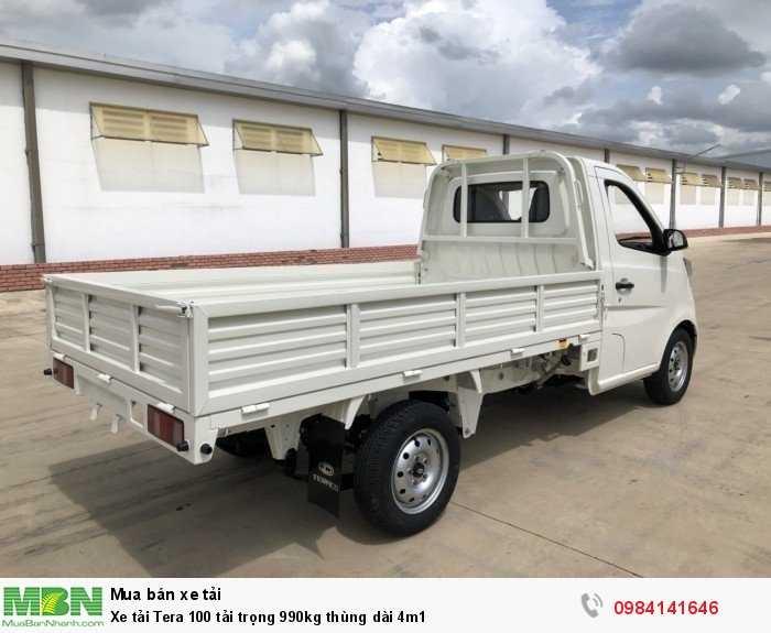 Xe tải Tera 100 tải trọng 990kg thùng dài 4m1 5
