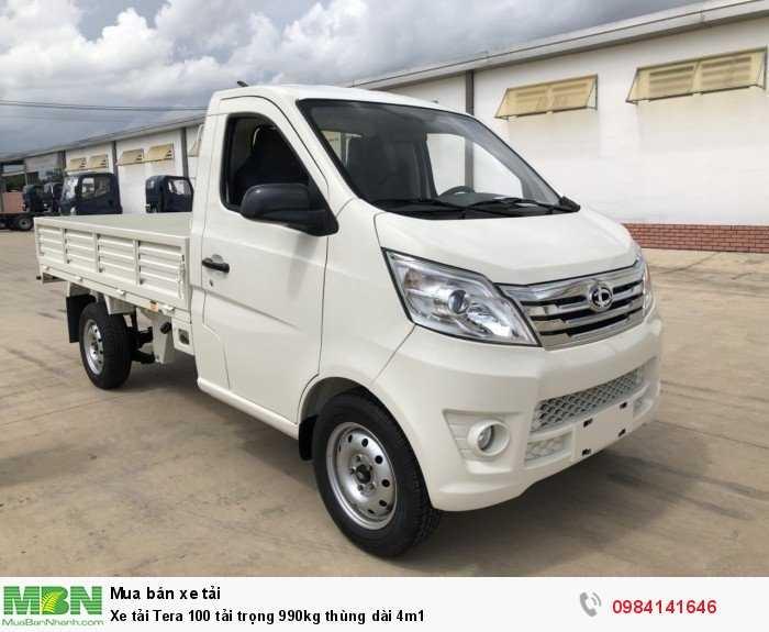 Xe tải Tera 100 tải trọng 990kg thùng dài 4m1 4