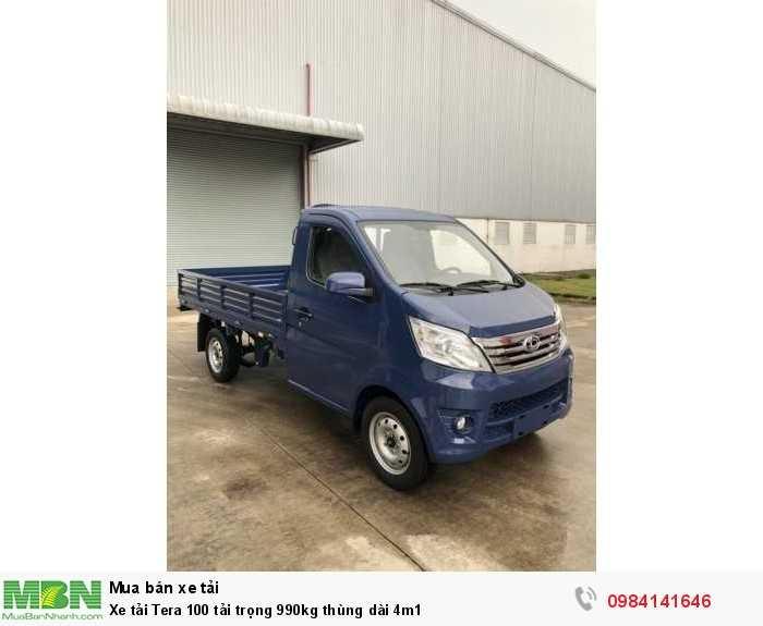 Xe tải Tera 100 tải trọng 990kg thùng dài 4m1 2