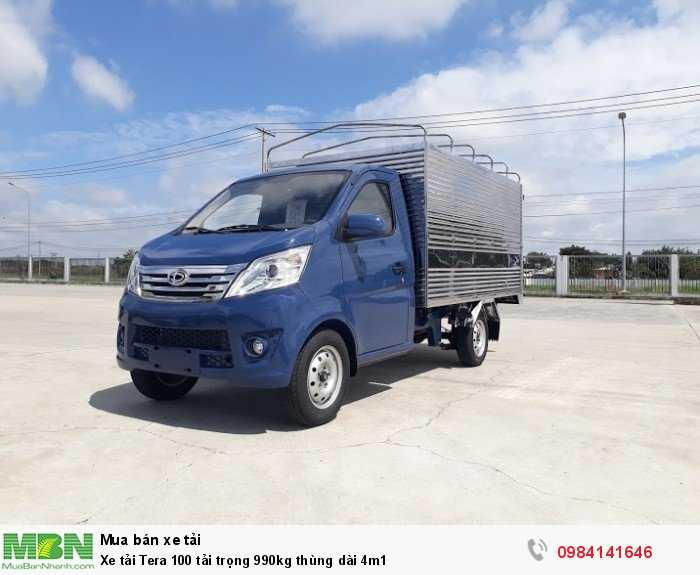 Xe tải Tera 100 tải trọng 990kg thùng dài 4m1 0
