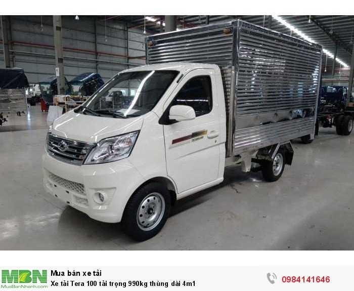 Xe tải Tera 100 tải trọng 990kg thùng dài 4m1 1