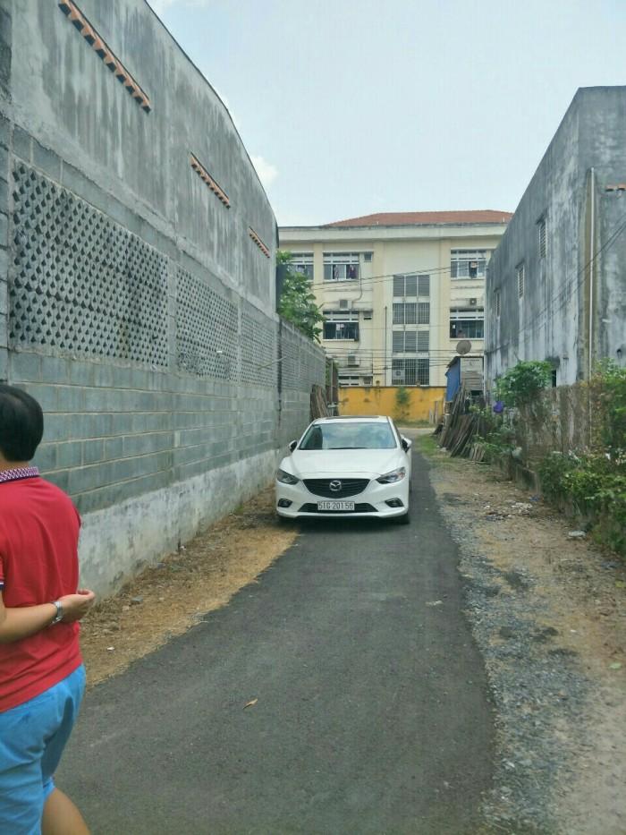 Đất thổ cư sau lưng Bệnh Viện Củ Chi, xã Tân An Hội