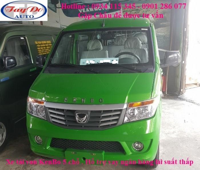 Xe tải Van Kenbo Chiến Thắng* 5 chỗ * 650 kg  = động cơ Euro4 = giá tốt nhất