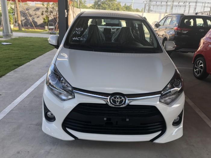 Toyota wigo 1.2 số tự động màu trắng giao ngay 4