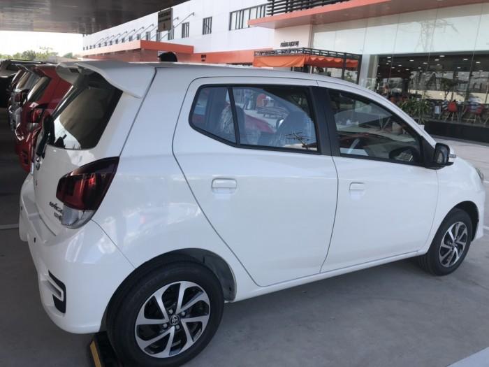 Toyota wigo 1.2 số tự động màu trắng giao ngay 0