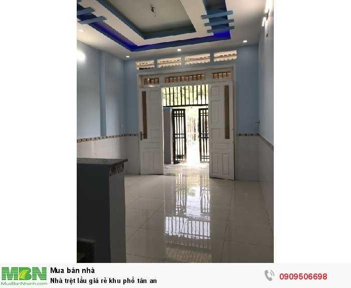 Nhà trệt lầu giá rẻ khu phố Tân An