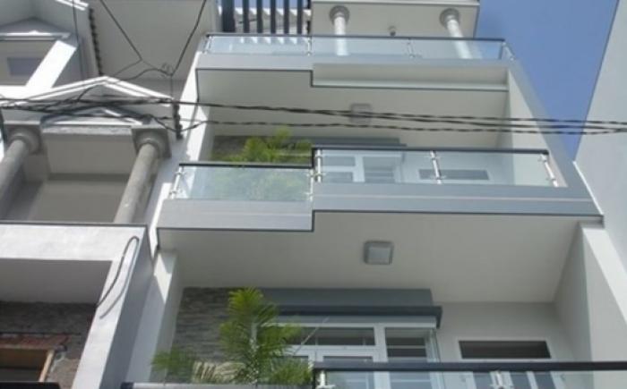 Nhà Bình Thạnh gần 70m2, 4 Lầu mới, đường Nguyễn Văn Đậu, vị trí đường ô tô quay đầu.