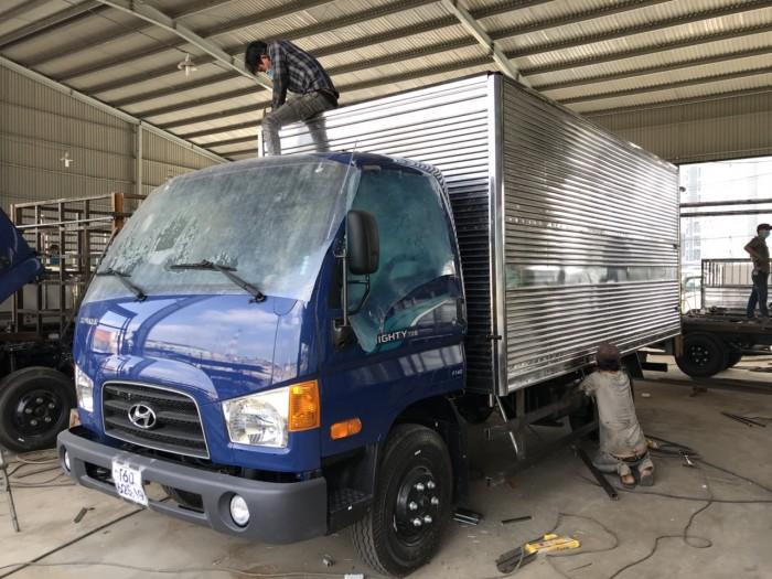 Xe tải Hyundai Mighty 75s 3.5 tấn thùng kín giá rẻ nhất tại Hyundai Vũ Hùng - Gọi 0933638116 (MrHùng 24/24)
